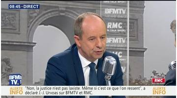 Jean-Jacques Urvoas face à Jean-Jacques Bourdin en direct