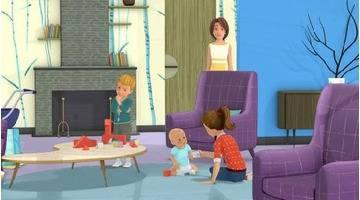 Martine : Martine baby-sitter