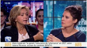 """""""Alain Juppé est le garant et l'assurance de l'alternance en 2017"""", Valérie Pécresse"""