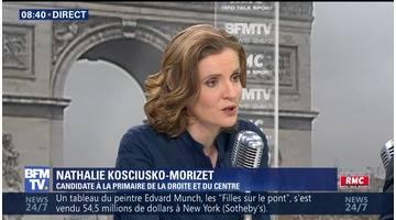 Nathalie Kosciusko-Morizet face à Jean-Jacques Bourdin en direct