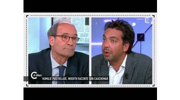 L'interview d'Eric Woerth - C à vous - 01/06/2015