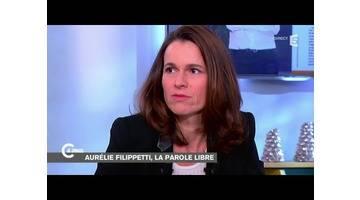 Aurélie Filippetti, la parole libérée - C à vous - 15/12/2014