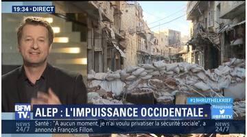 """Alep: """"Il y a une incroyable complaisance de la classe politique française"""", Yannick Jadot"""