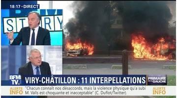 Attaque de policiers à Viry-Châtillon: 11 personnes interpellées et placées en garde à vue