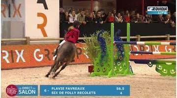 Salon du cheval 2016 EpreuveTDA As Poney 1