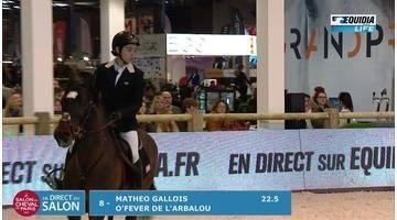 Salon du cheval 2016 Tournée des As Poney Elite