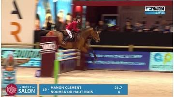 Salon du cheval 2016 Epreuve Amateur 1 GP 115 - TOP OF CRIEF