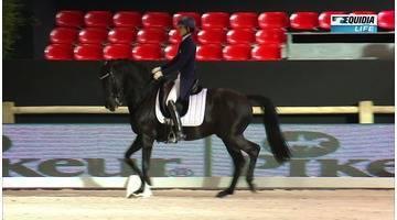 Salon du cheval 2016 Epreuve 18 Dressage