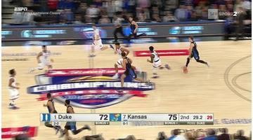 Basket - NCAA - Frank Mason III crucifie Duke