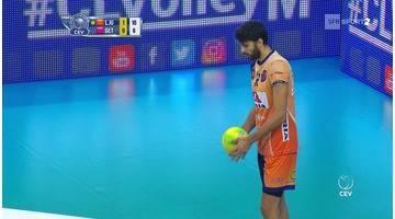 Volley Masculin - Ligue des Champions - 3ème tour aller - Ljubljana en ballotage favorable