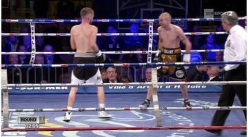 Boxe - Championnat d'Europe - Poids mouche - Legrand champion d'Europe