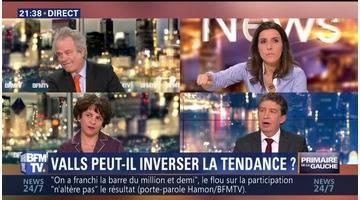 Primaire de la gauche: Manuel Valls peut-il inverser la tendance ?
