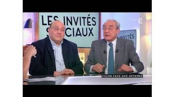 Fillon face aux affaires - C à vous - 30/01/2017