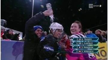 Crashed Ice - Finlande - Sandrine Rangeon arrache le podium