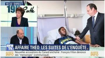 """Aulnay-sous-Bois: """"Psychologiquement, Théo est démoli"""", Éric Dupond-Moretti"""