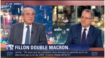 Sondage Elabe: Fillon devance Macron au premier tour