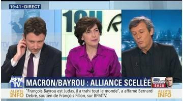 Benjamin Griveaux face à David Assouline: l'alliance Macron-Bayrou, un coup dur pour Benoît Hamon ?