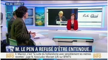 Soupçons d'emplois fictifs au FN: Marine Le Pen refuse d'être entendue