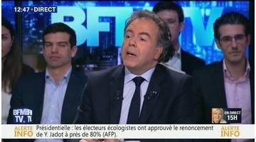 """Questions d'éco: """"Quand j'entends qu'il faut interdire tous liens entre des parlementaires et une activité professionnelle, c'est absurde"""", Luc Chatel"""