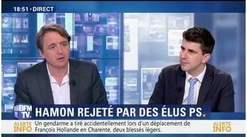 Présidentielle: Benoît Hamon rejeté par des élus PS