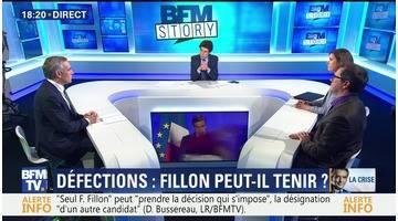 Défections: François Fillon peut-il tenir ?