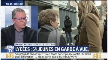 Violence dans des lycées de Saint-Denis: 54 jeunes encore en garde à vue