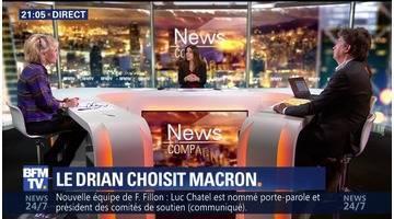 Ralliement à Macron: Hollande freine Le Drian