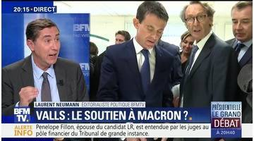 Présidentielle: Manuel Valls va-t-il annoncer son ralliement à Emmanuel Macron ?