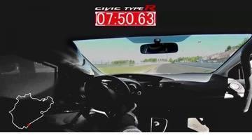 Honda Civic Type R 2015 : le record du Nürburgring en intégralité