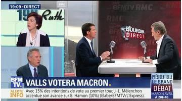 """Soutien de Valls à Macron: """"C'est la rupture du Parti socialiste"""", François Bayrou"""