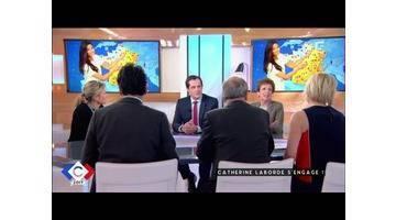 Laborde s'engage - C à vous - 04/04/2017