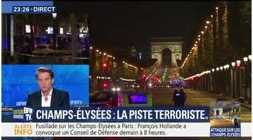 Tirs sur les Champs-Élysées: Daesh revendique l'attaque (1/2)