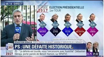 Présidentielle 2017: Macron et Le Pen au second tour tour - 24/04
