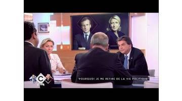 Lellouche : je me retire de la vie politique - C à vous - 27/04/2017