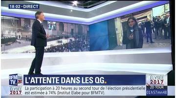 Présidentielle 2017, 2nd tour : la soirée électorale de BFMTV (1/6)
