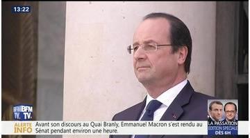 François Hollande, les adieux au pouvoir