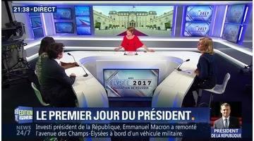 Le premier jour du président Macron (4/7)