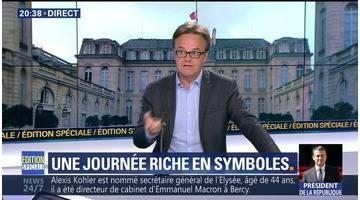Le premier jour du président Macron (2/7)