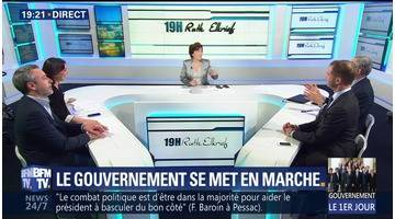 Le gouvernement d'Edouard Philippe se met en marche (1/2)