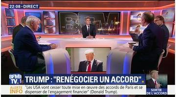 Climat: Donald Trump se retire de l'accord de Paris