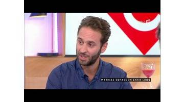 Mathias Depardon, en libre - C à vous - 14/06/2017