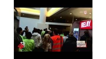 Quand la terreur touche la Belgique - C à vous - 22/03/2016