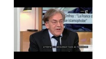 Finkielkraut face aux terroristes - C à vous - 23/11/2015
