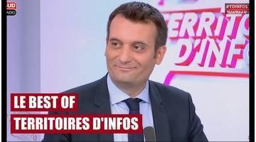 Invité : Florian Philippot - Territoires d'infos - le best of (03/07/2017)