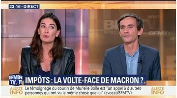 Impôts: à quoi joue Emmanuel Macron ? (2/2)