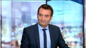 L'invité politique de 8h15 du 7 août : Florian Philippot, vice-président du Front National