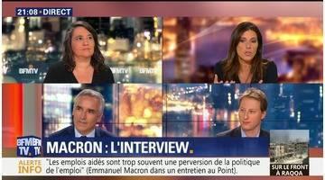 Macron parle enfin