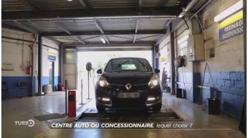 Turbo : Centre auto ou concessionnaire, lequel choisir?