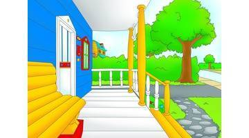 Caillou : Un, deux, Boom! / Sortis du bois / Peindre la maison / L'action de grâce de Caillou