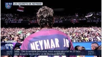 Les secrets de Neymar